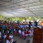 4 mil 500 estudiantes de Cuauhtémoc reciben zapatos gratis